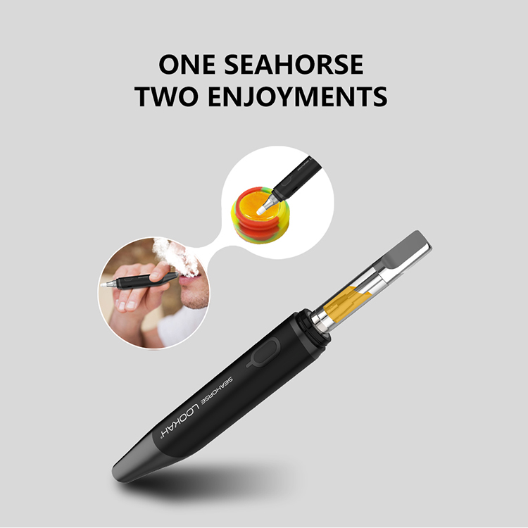 Lookah Seahorse 2-in-1 multi-functional vape pen