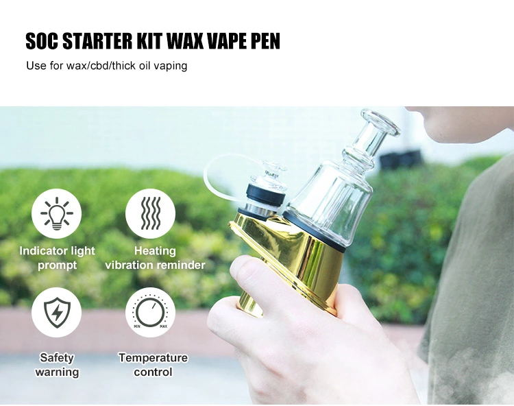 Soc Peak Vape Electric Dab Rig Starter kit the latest concentrate vaporizer